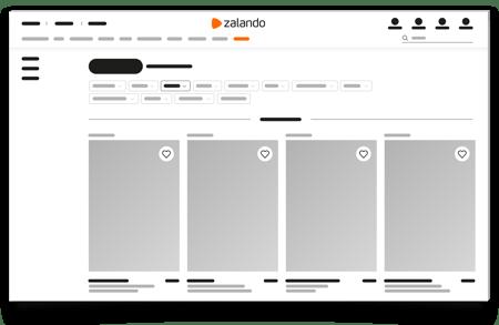 mock-up zalando-products, Brandsom Zalando Mock-up